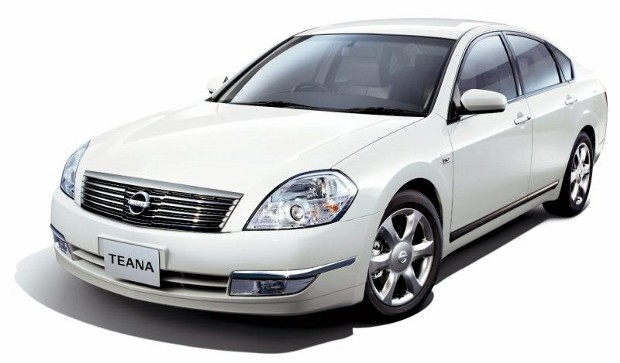 2003 Nissan Teana Front Image