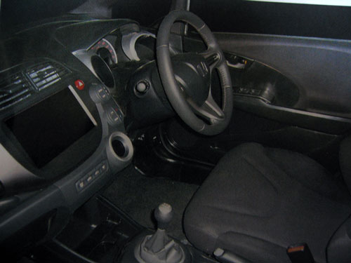 2008 Honda Jazz Interior