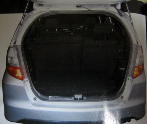 2008 Honda Jazz boot