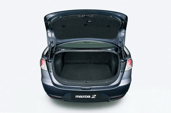 Mazda2 Boot