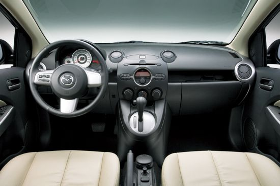Mazda2 interior