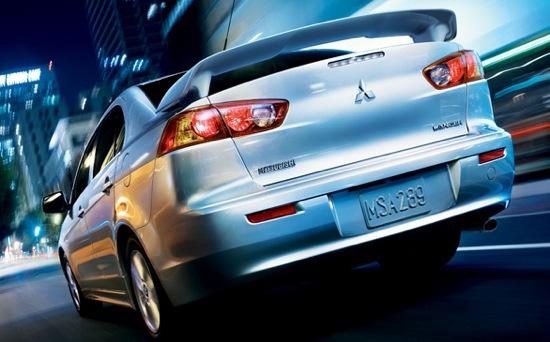 2008 Mitsubishi Lancer Rear Image