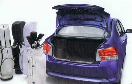 2009 Honda City boot image