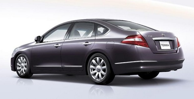 2010 Nissan Teana Rear Image