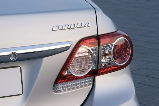 2010 Toyota Corolla Rear Image