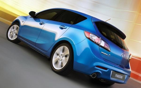 Mazda3 Rear Image
