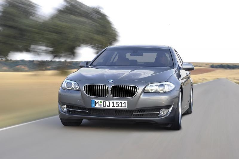 BMW 5 Front Image
