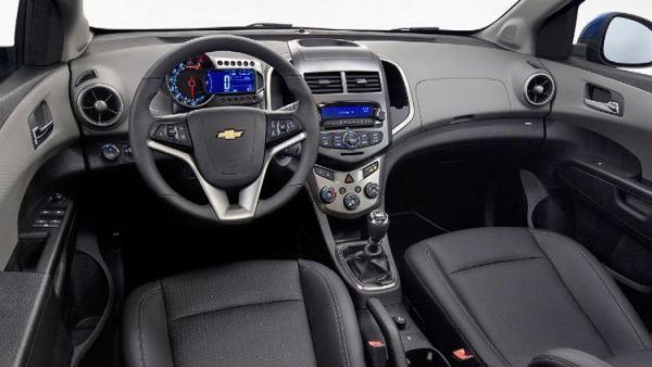 2012 Chevrolet Aveo Interior Image