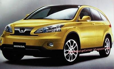 2012 Honda CR-V Rendering Image 2
