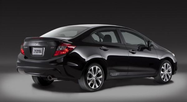 2012 Honda Civic Rear Image