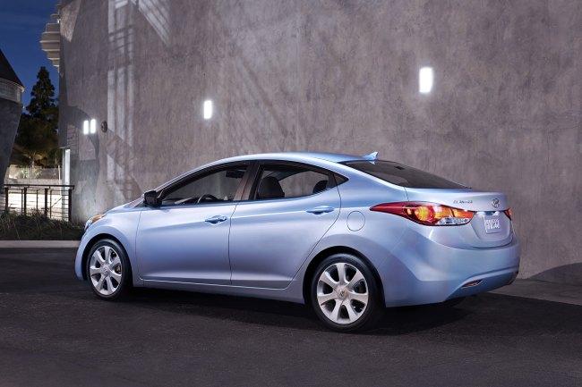 2012 Hyundai Elantra Exterior Image