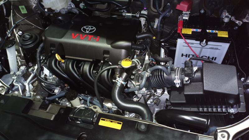 2013 Toyota Vios - Engine - Image