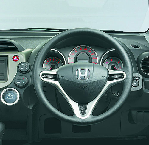 Honda Jazz/Fit dash
