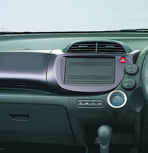 2008 Jazz/Fit console
