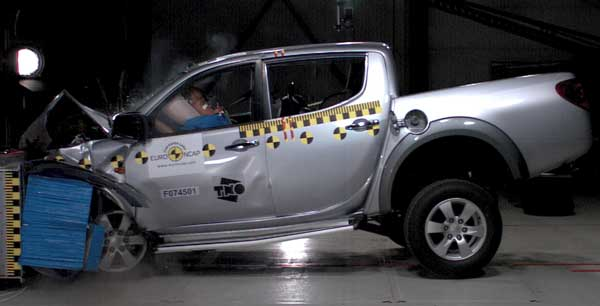 Trucks tested include the Nissan Navara, Mitsubishi L200 (we call it Triton