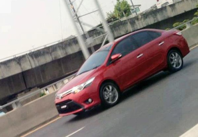 Toyota Vios Image Front 2013 Not Real