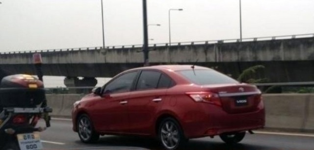 Toyota Vios Image Rear 2013 Not Real