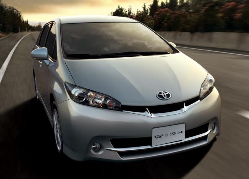 2011 Toyota Wish Image