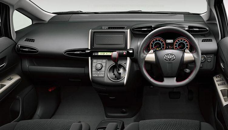 Toyota Wish Dash Image