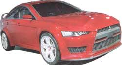 Mitsubishi Evolution X Small Image