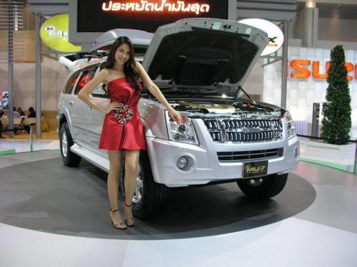 Thailand International Motor Expo 2006 Photos - 2007 Isuzu MU7