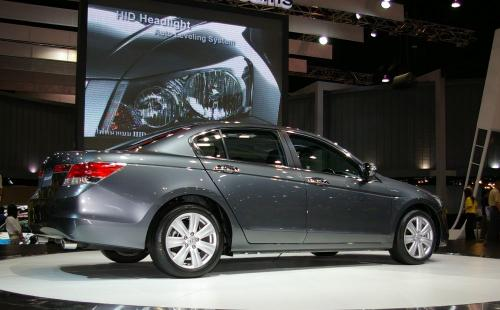2008 Honda Accord - rear side