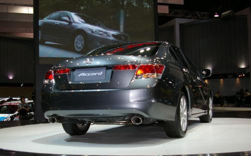 2008 Honda Accord - rear corner