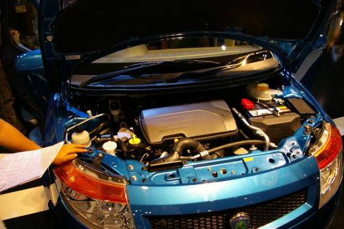 Proton Savvy - engine bay