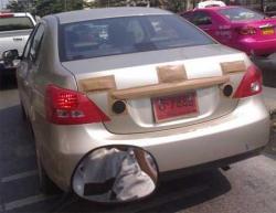Toyota Vios replacement testing in Bangkok - 2007/2008 Vios Rear