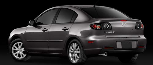 Facelifted Mazda 3 on the way? - 2007 sedan - rear