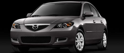 Facelifted Mazda 3 on the way? - 2007 sedan - front