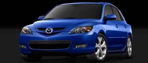 Facelifted Mazda 3 on the way? - 2007 5-door front