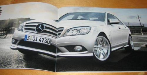 2008 C-Class brochure shots leaked - Exterior distorted