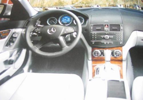 2008 C-Class brochure shots leaked - Interior 2