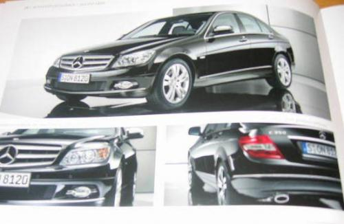 2008 C-Class brochure shots leaked - Exterior 3 up