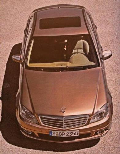2008 C-Class brochure shots leaked - 2008 C-Class Front/Top