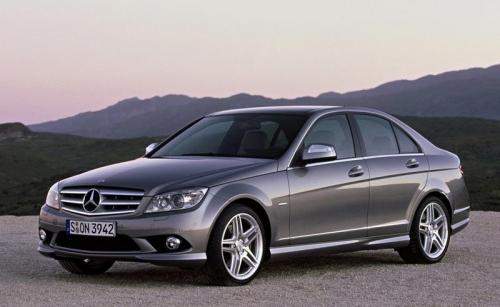 C-Class shows some class - 2008 C-Class AMG front