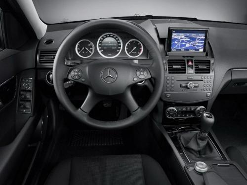 C-Class shows some class - 2008 C-Class in the drivers seat