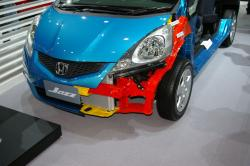 2008 Honda Jazz - Impact absorption structure 2