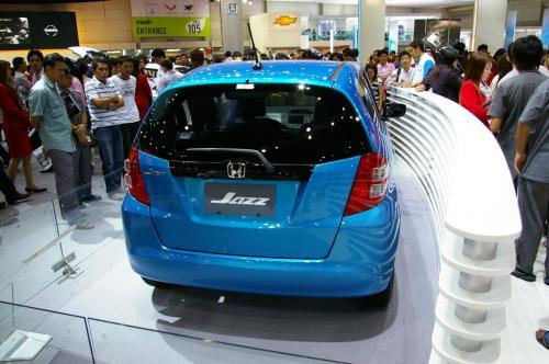 2008 Honda Jazz - Rear