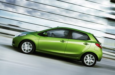 2008 Mazda Demio (Mazda 2) - Thailand by 2009?  - Side