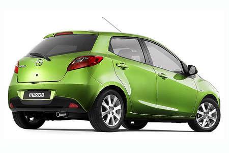 2008 Mazda Demio (Mazda 2) - Thailand by 2009? - Rear