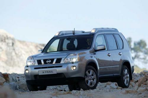 2008 Nissan X-Trail breaks cover ahead of Geneva - 2008 Nissan X-Trail Front