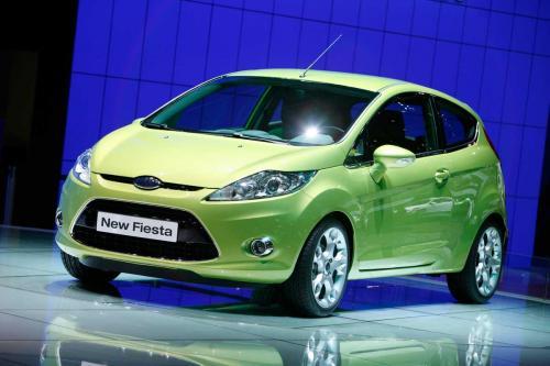 2009 Ford Fiesta 3 door front