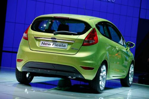 2009 Ford Fiesta 3 door rear