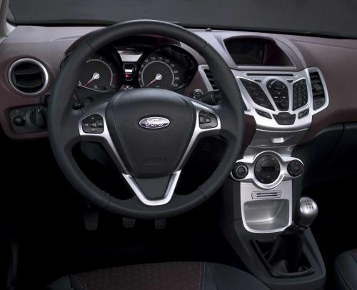 2009 Ford Fiesta Interior