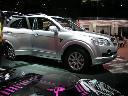 2007 Bangkok International Motor Show - Yawn Chevrolet Captiva 1