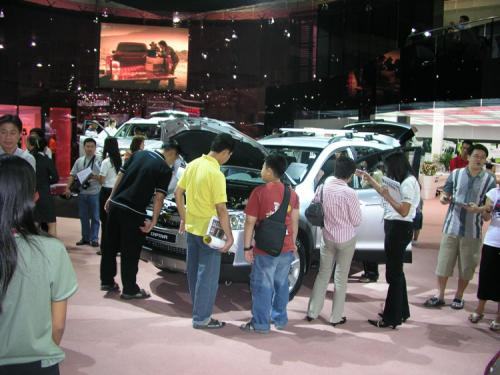 2007 Bangkok International Motor Show - Yawn (Chevrolet Captiva)
