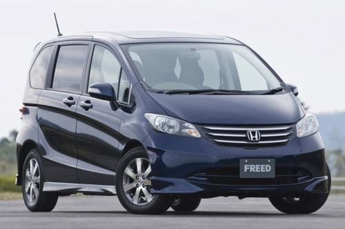 Honda Freed Front 2
