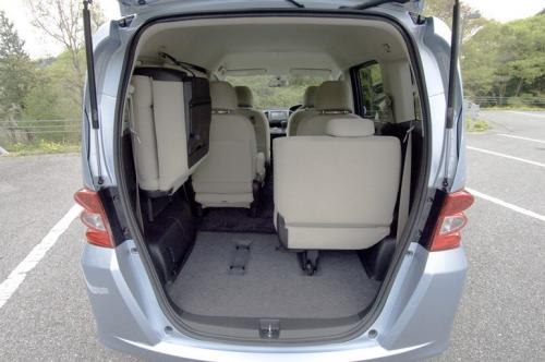 Honda Freed Rear Seat Up